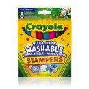 Crayola 081294 KLASSIK -  8 Mini Stempel