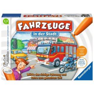 Ravensburger tiptoi Spiele/Puzzles - 00848 Fahrzeuge in der Stadt