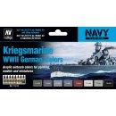 Vallejo 71615 Model Air Set Kriegsmarine WWII German...
