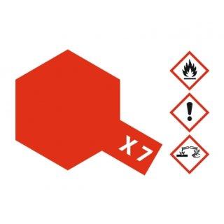 Tamiya  X-7 Rot glänzend 23 ml