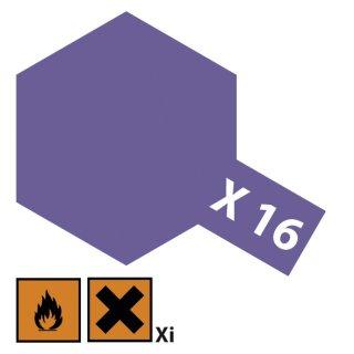 Tamiya  X-16 Violett glänzend 23ml