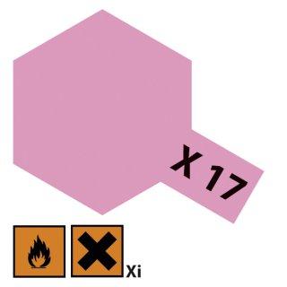 Tamiya  X-17 Rosarot glänzend 23ml