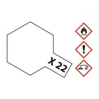 Tamiya  X-22 Klarlack glänzend 23ml