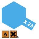 Tamiya  X-23 Klar-Blau glänzend 23ml