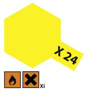 Tamiya  X-24 Klar-Gelb glänzend 23ml