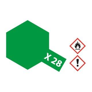 Tamiya  X-28 Parkgrün glänzend 23ml