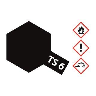 Tamiya  TS-6 Schwarz matt 100ml