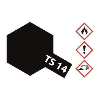 Tamiya  TS-14 Schwarz glänzend 100ml