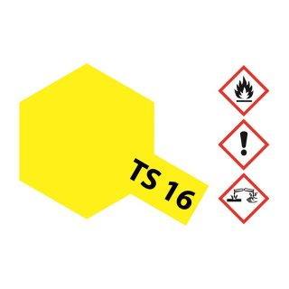 Tamiya  TS-16 Gelb glänzend 100ml
