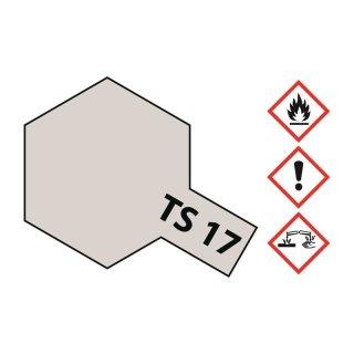 Tamiya  TS-17 Aluminium Silber glänzend 100ml