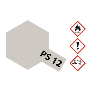Tamiya  PS-12 Silber Polycarbonat 100ml