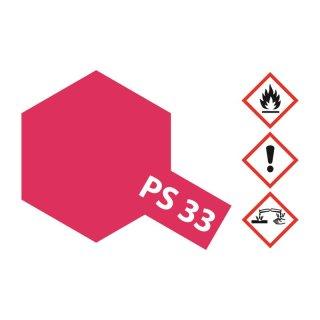 Tamiya  PS-33 Kirschrot Polycarbonat 100ml