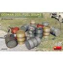 MiniArt 35597 - German 200L Fuel Drum Set WW2  1:35