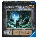 Ravensburger Exit Puzzles 15028 Exit 7: Wolf
