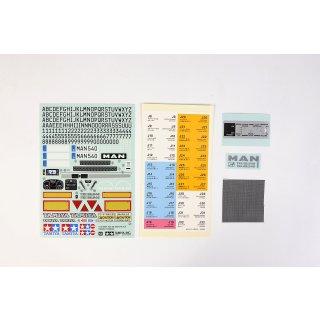Tamiya 319495629 Sticker-Beutel MAN TGX  56325
