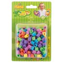 HAMA 8521 Maxi Blister Packung mit 250 Perlen Pastell Mix