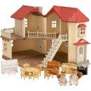 Sylvanian Families 2746 Stadthaus mit Licht Geschenk-Set