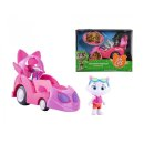 Smoby 7600180211-44 CATS Spielfigur Milady mit Auto