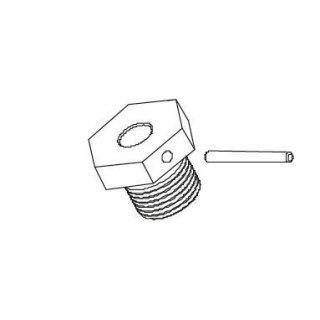 CARSON 500405329 FY8 Radmitnehmer mit Pin