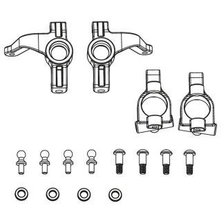 CARSON 500405354 X10EB Lenkhebel + Achsschenkel-Set vorn