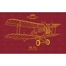 Eduard Plastic Kits R0015 - SE.5a  Royal Class   1:48