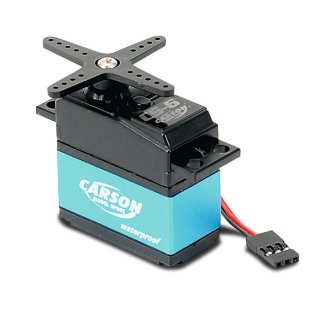CARSON 500502041 Servo CS-6 Waterproof MG/ 6kg / JR