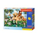 Castorland B-222063 - Summer Pals, Puzzle 200 Teile