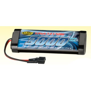 CARSON 500608117 Akku RacingPack 7,2V/3000mAh NiMH T-Plug
