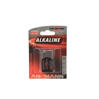 CARSON 500609045 9V-Block-Batterie Alkaline