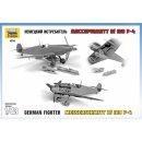 ZVEZDA 500784806 - 1:48 WWII Messerschmitt Bf-109 F4