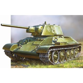 ZVEZDA 500785001 - 1:72 WWII Rus. KPz T34/76 Sna