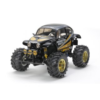 Tamiya 300047419 - 1:10 RC Monster Beetle Black