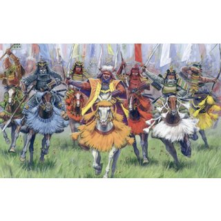 ZVEZDA 500788025 - 1:72 Samurai Warriors-Cavalry
