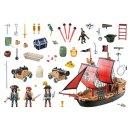 PLAYMOBIL 70411 Pirates - Totenkopf-Kampfschiff