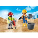 PLAYMOBIL 70272 DuoPack Zwei Bauarbeiter