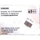 Märklin E206385 - Kupplungsdeichsel 2 Stück