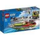 LEGO City 60254 - Rennboot-Transporter