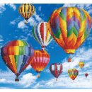 PRACHT DD-50451 - DIAMOND DOTZ Ballone 40x37 cm