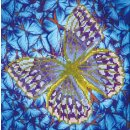 PRACHT DD5-023 - DIAMOND DOTZ Schmetterling lila-silber...