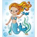 PRACHT DD3-022 - DIAMOND DOTZ Süße Meerjungfrau