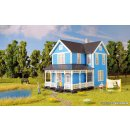 KIBRI 38841 - H0 Schwedenhaus, blau