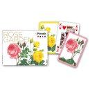 PIATNIK 238338 - Kartenspiel Bridge/ Rummy Rose Garden