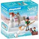 PLAYMOBIL 70398 - Schneespaß mit Snips & Herrn...
