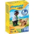 PLAYMOBIL 70407 Tierarzt mit Hund