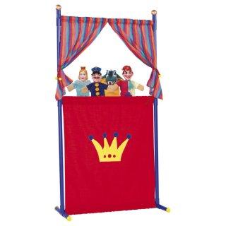 Simba - 104586783 - Puppentheater + 4 Handpuppen