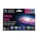 Vallejo 777092 - Farb-Set, Galaxy Dust