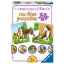 Ravensburger my first puzzles - 9x2 T. 05072 -...