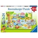 Ravensburger 2 X 24 Teile 05057 - Freizeit am See