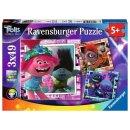 Ravensburger 3 X 49 Teile 05081 - Trolls 2: Welttournee