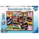 Ravensburger 100 Teile XXL 12899 - Rennwagen Pinnwand